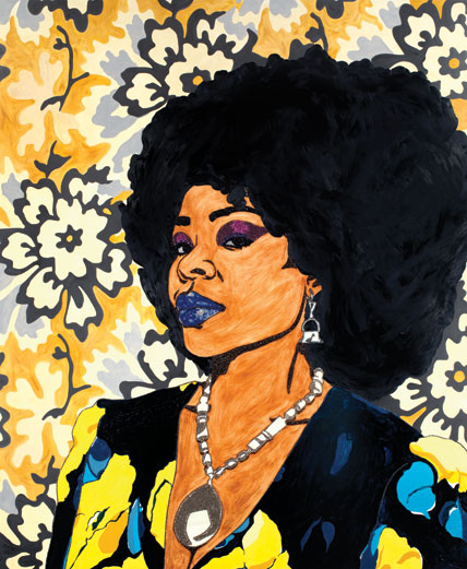 Mickalene Thomas at the Brooklyn Museum