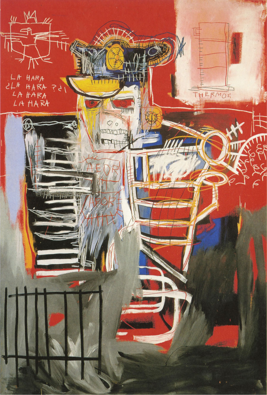 Eternal art star Jean-Michel Basquiat is alive and well at the current Gagosian exhibit in Chelsea. Over 50 canvases depict his relentless energy, explosive content, and socio-cultural dialogues. A must see for anyone period, his work still speaks volumes in today's age.