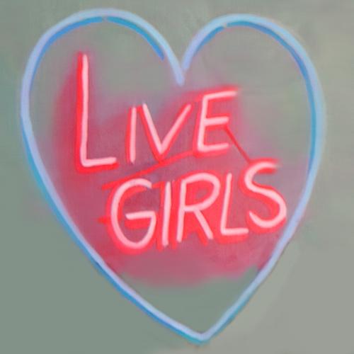 Panni Malek, Live Girls, oil on linen