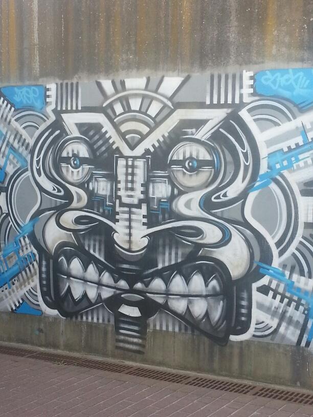 Graffiti in Bruges