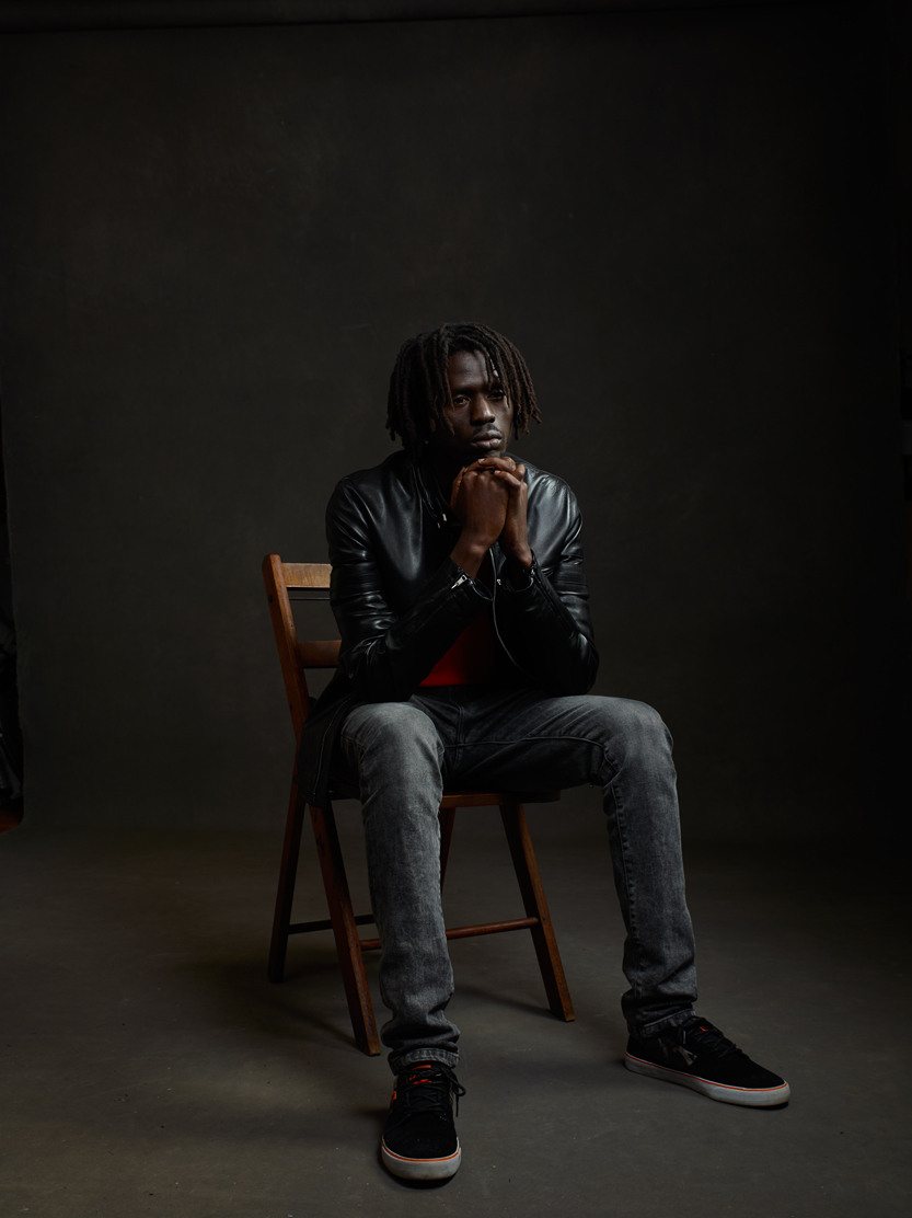 Actor/activist/former 'child soldier' Emmanuel Jal. Photo by Mike Mellia.