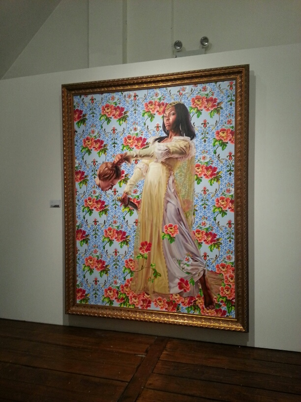 Portrait by Kehinde Wiley