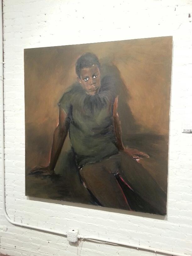 Portrait by Lynette Yiadom Boakeye