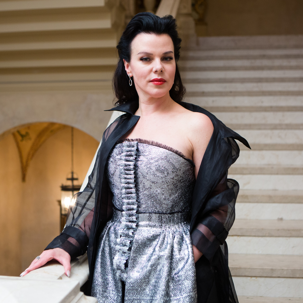 El Museo del Barrio's Gala honoring Ruben & Isabel Toledo and MAC Cosmetics, celebrating Antonio Lopez.  Debi Mazar. Photo by BFA/Carl Timpone.