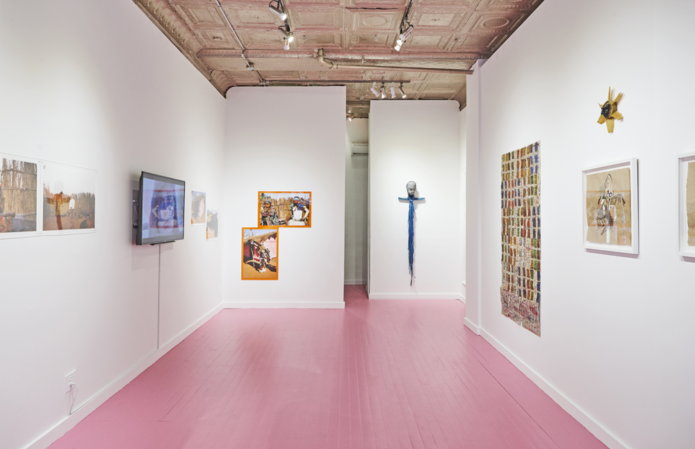 Installation view from ZIg ZAG ZIM Part 1, Spring 2016. Courtesy of the Catinca Tabacaru Gallery.