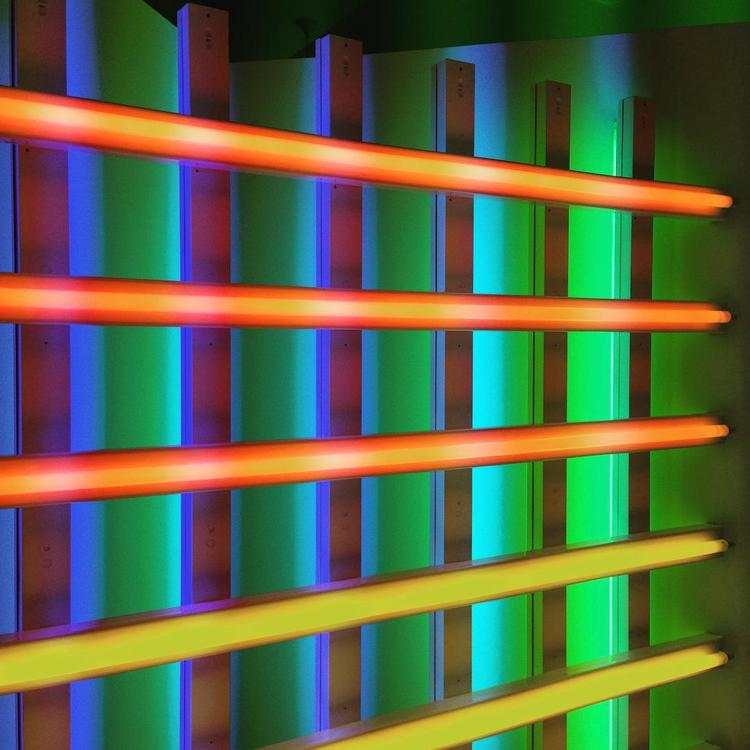 The Dan Flavin Art Institute in Bridgehampton, New York.