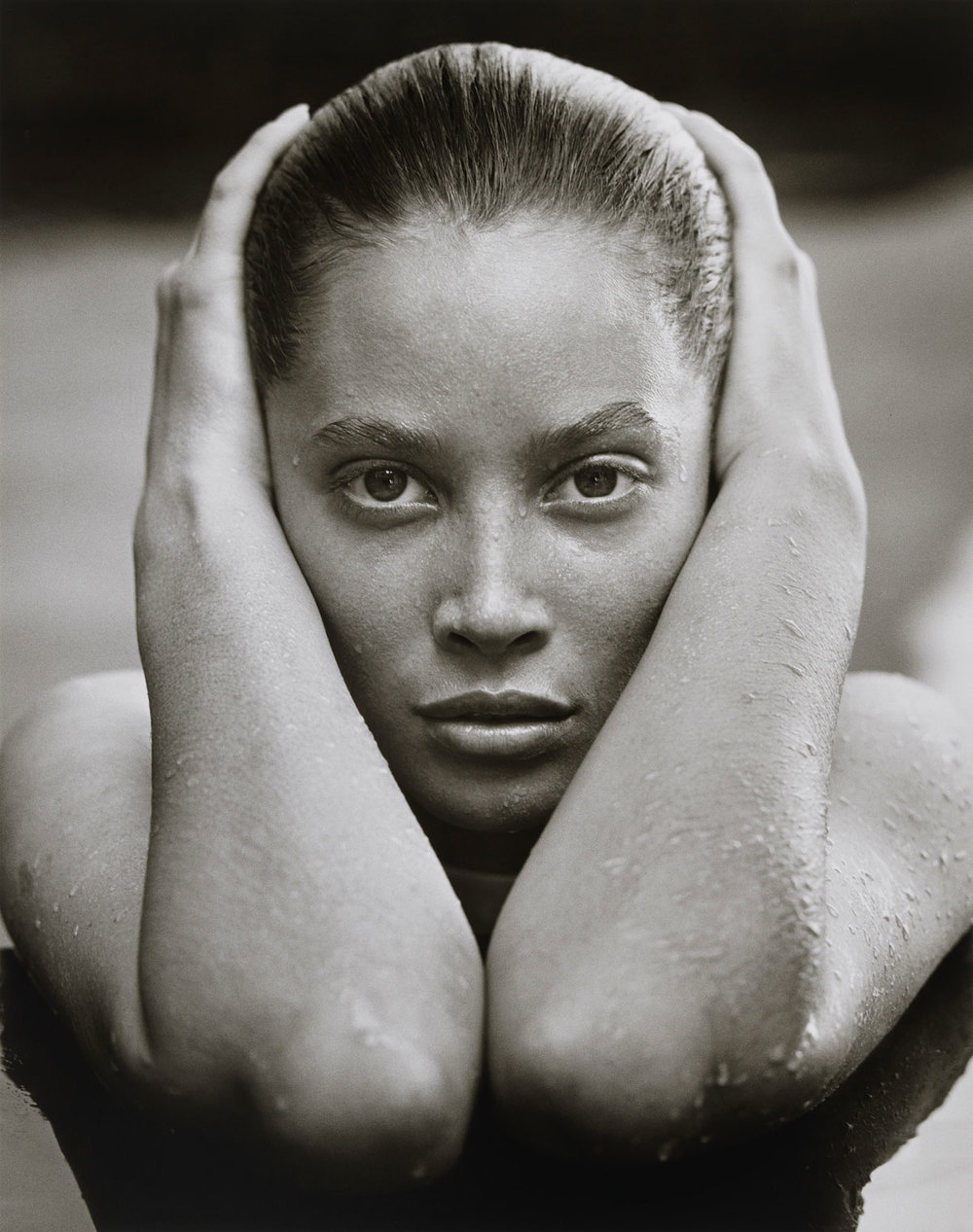 Herb Ritts  (American, 1952-2002)  Christy Turlington, Hollywood  1988 Gelatin silver print Museum of Fine Arts, Boston Gift of Herb Ritts Foundation © Herb Ritts Foundation Photograph © Museum of Fine Arts, Boston