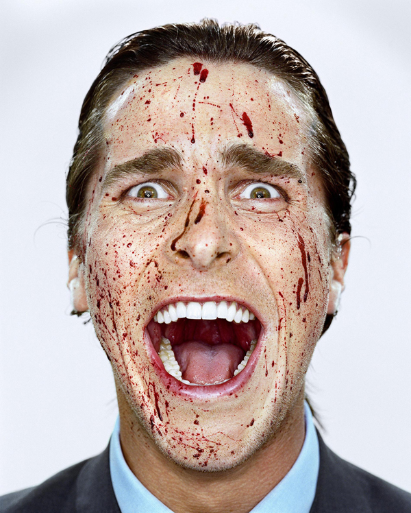 Christian Bale. Courtesy of Martin Schoeller and Hasted Kreutler.
