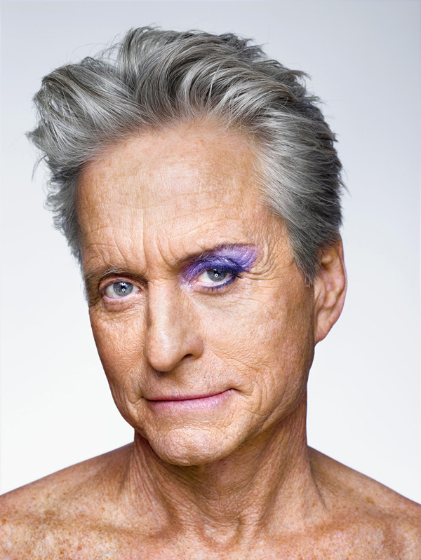 Michael Douglas. Courtesy of Martin Schoeller and Hasted Kreutler.
