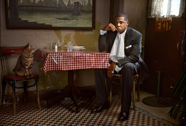Jay-Z. Courtesy of Martin Schoeller and Hasted Kreutler.
