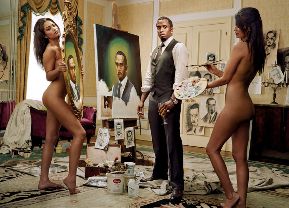 Sean 'Diddy' Combs. Courtesy of Martin Schoeller and Hasted Kreutler.