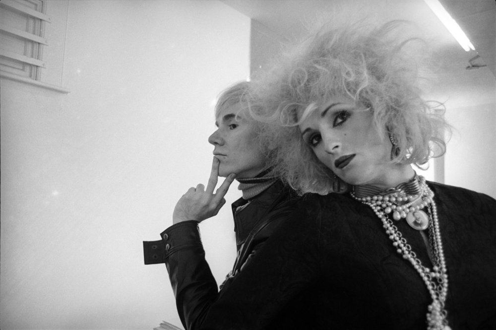 Andy Warhol and Candy Darling, New York, photo by Cecil Beaton, 1969. ©The Cecil Beaton Studio Archive at Sotheby's