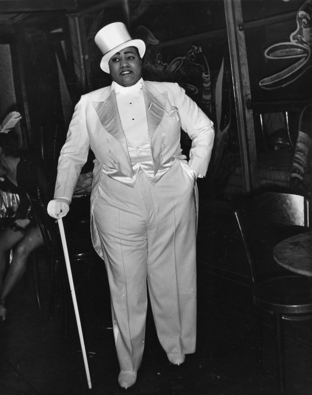 Gladys Bentley at the Ubangi Club in Harlem, photo by Sterling Paige, early 1930s. Courtesy of the Visual Studies Workshop, Rochester, NY