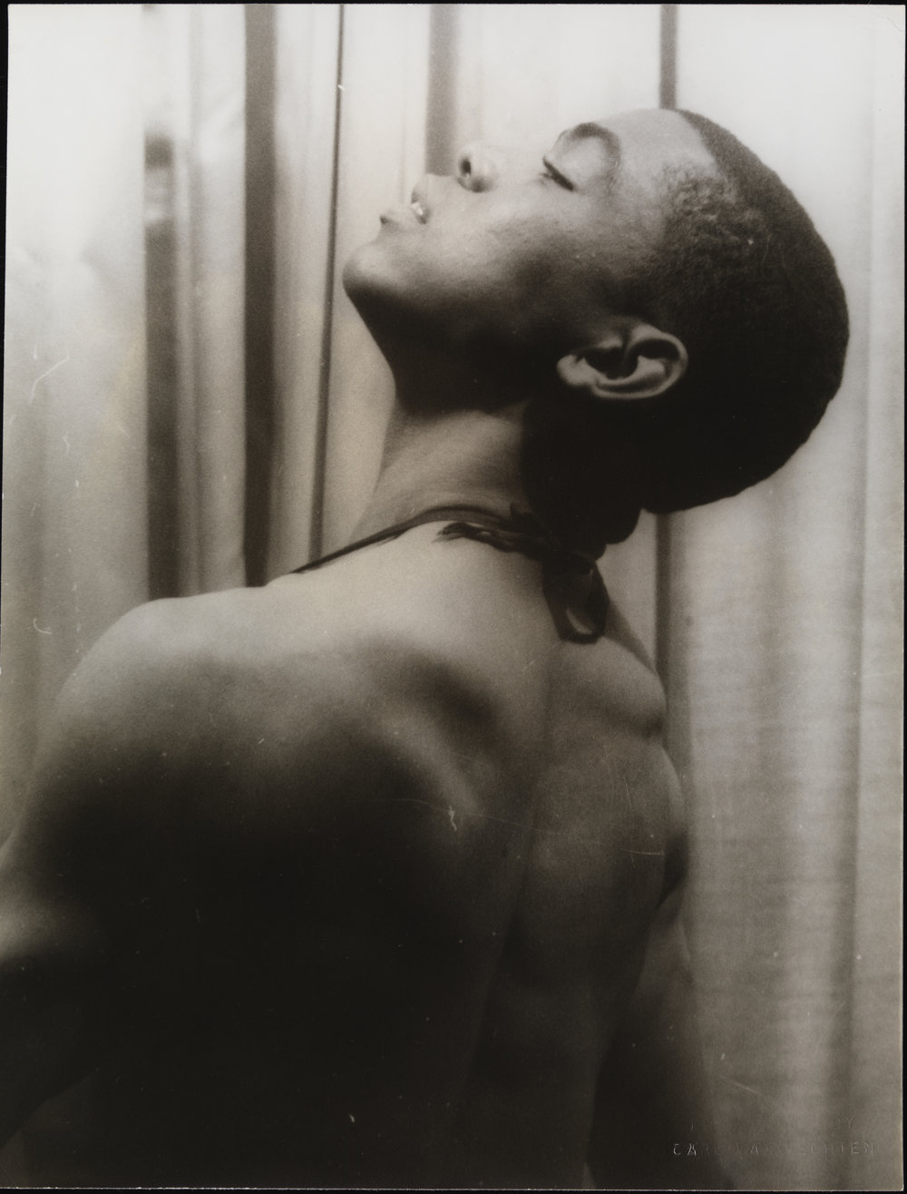 Alvin Ailey, photo by Carl Van Vechten, 1955, Museum of the City of New York, Gift of Carl Van Vechten, 63.4.9. Used with permission of The Van Vechten Trust
