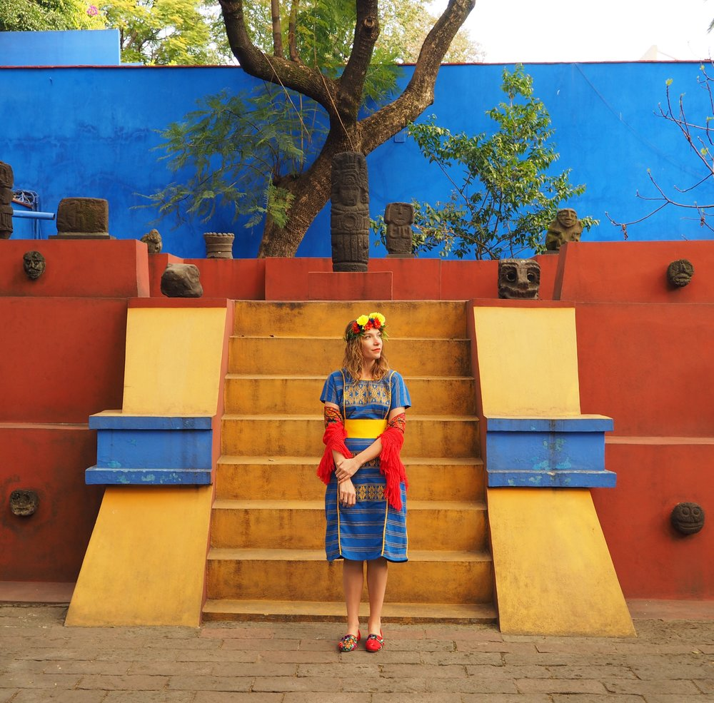 Arfully Awear x Museo Frida Kahlo. Courtesy of Ariel Adkins.