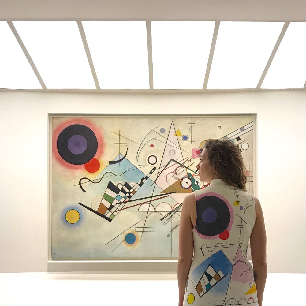 Artfully Awear x Kandinsky. Courtesy of Ariel Adkins.