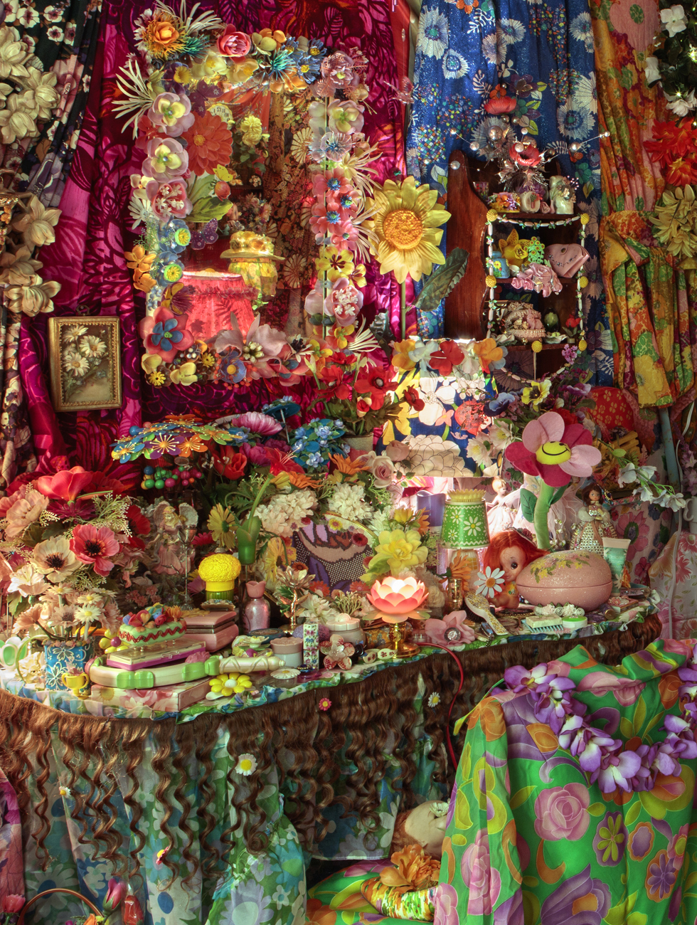 "The Garden 1996-1998, mixed media installation. ""Courtesy of the artist and P•P•O•W, New York."