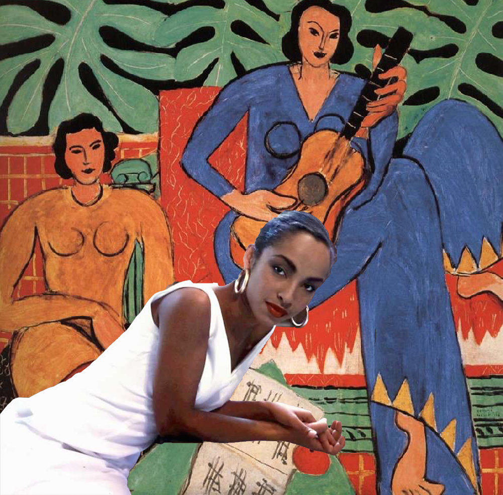 SADE MEETS MATISSE, 2016. Courtesy of the Artist.