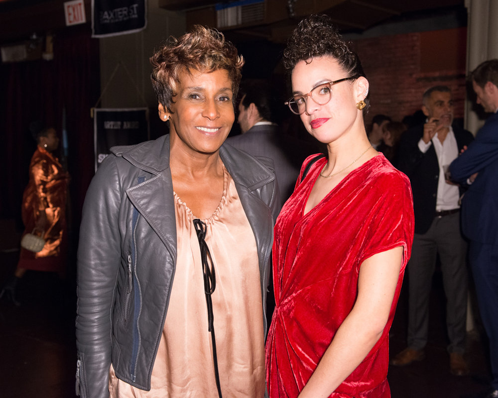 Renee Cox, Sadie Barnette.Photo by Madison Voelkel/BFA.com.