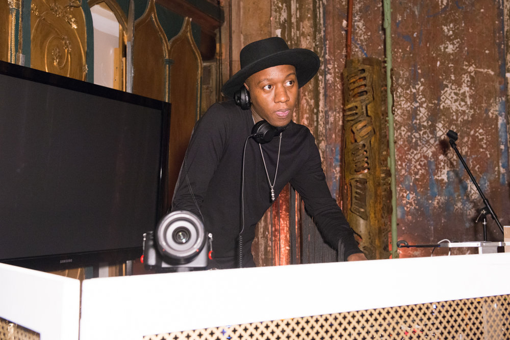 DJ Mike Q.  Photo by Madison Voelkel/BFA.com.