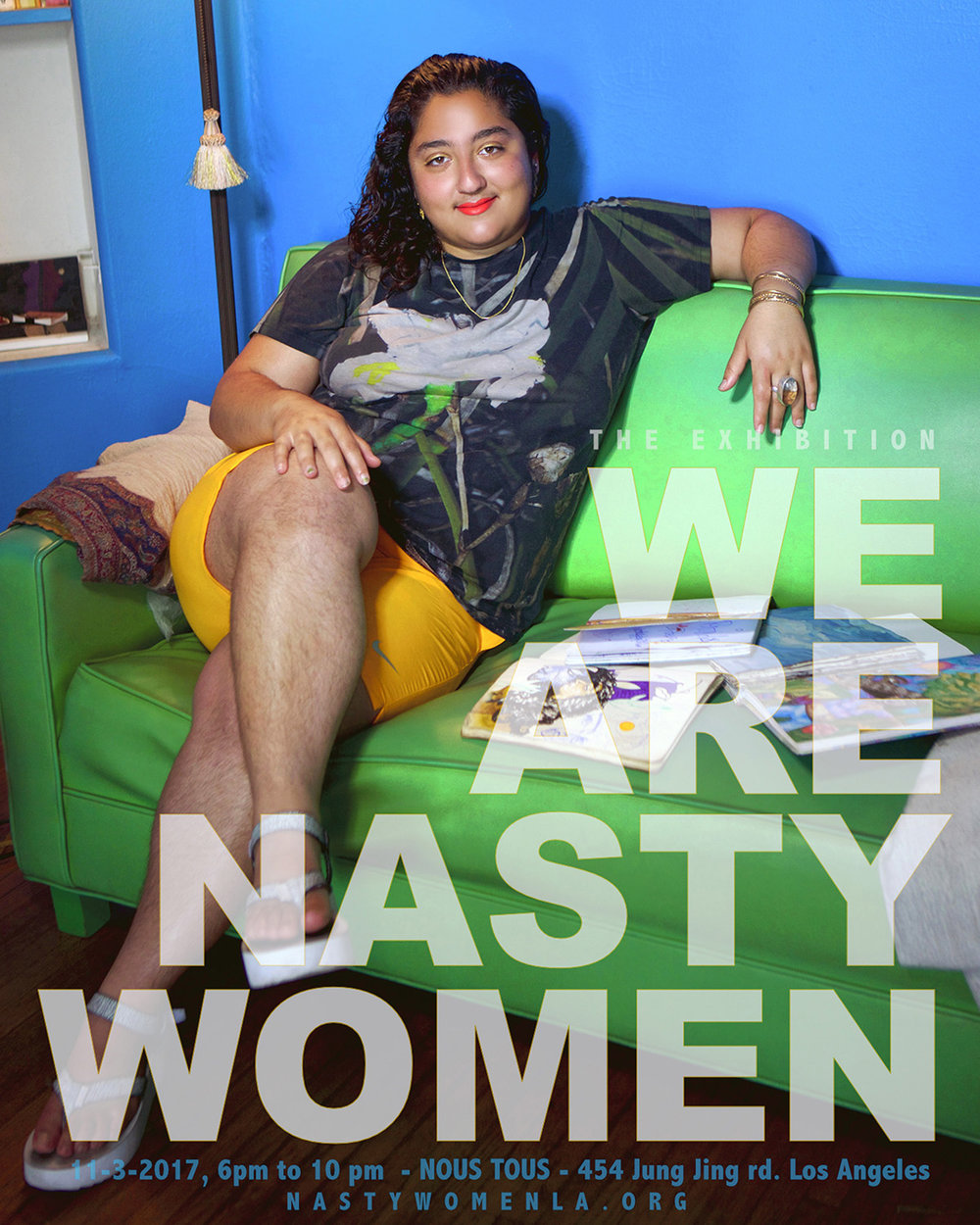 Paradise from the  We are Nasty Women  campaign. Courtesy of the artist.