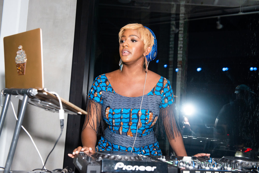 DJ Cuppy.  Photo by BFA.