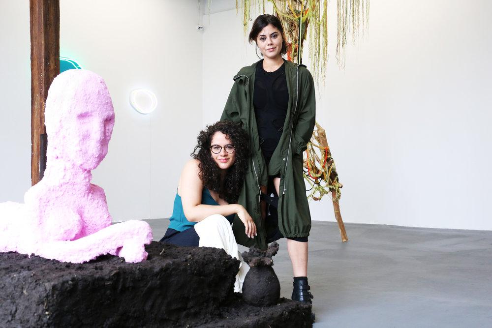 Cristina Tufiño and Alex Santana. Morir Soñando . Curated by Alex Santana. Knockdown Center, New York, June 22 –August 19, 2018. © Andrew Kaplan.