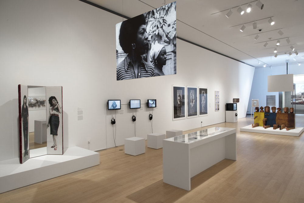 Installation view, Radical Women: Latin American Art, 1960-1985, Brooklyn Museum, April 13, 2018 through July 22, 2018. (Photo: Jonathan Dorado, Brooklyn Museum)