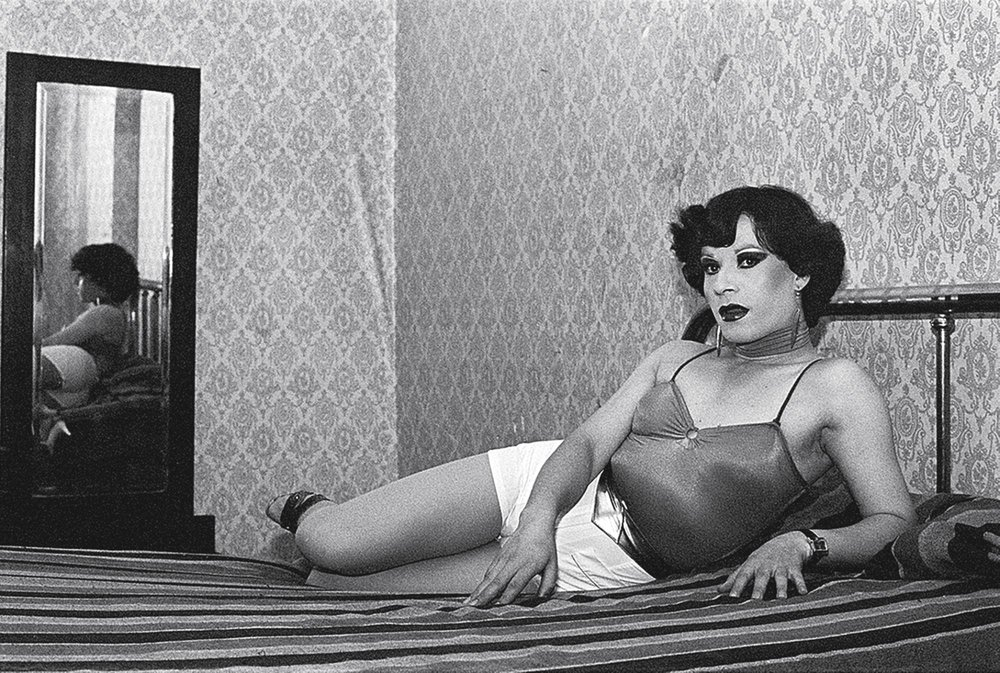 Paz Errázuriz (born Chile, 1944). Evelyn, 1982, from the series La manzana de Adán (Adam's apple), 1982–90. Gelatin silver print, 15 9/16 × 23 1/2 in. (39.5 × 59.7 cm). Courtesy of the artist and Galería AFA, Santiago. © Paz Errázuriz