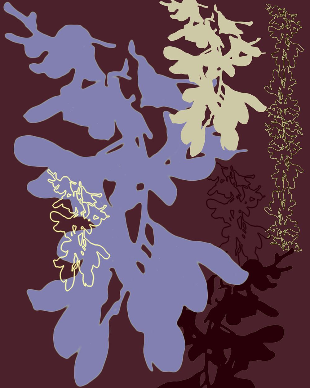 ORCHIDS Cocoa-Lavender