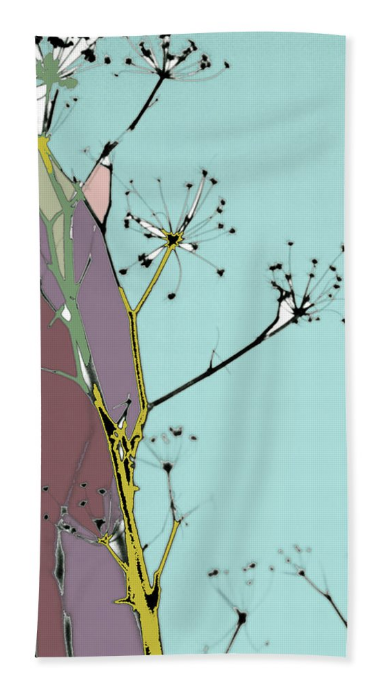 Hamptons Tiffany Beach Towel