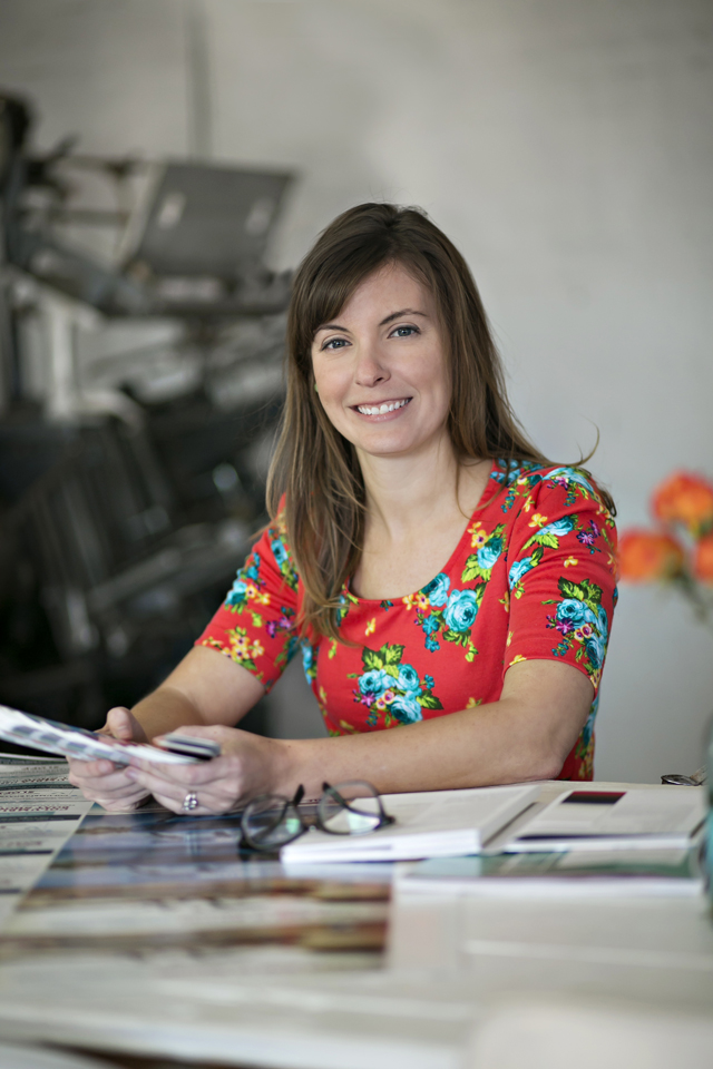 Commercial Photography Portrait of Female Business Owner