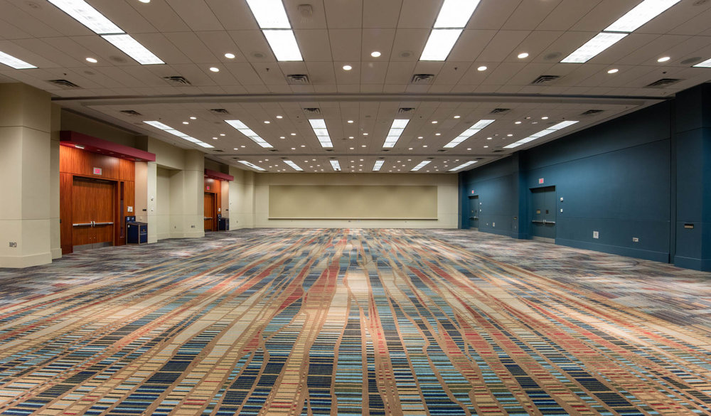 Large conference room in convention center
