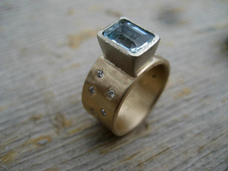 Lorien Powers Studio Jewelry Ring by Lorien Powers Studio