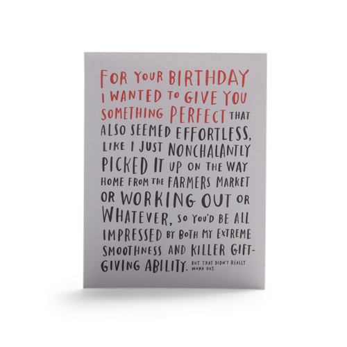 For your birthday unique letterpress greeting card m4hsunfo
