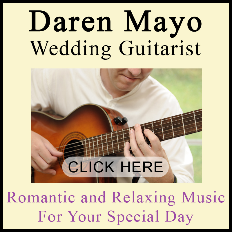 Daren Mayo wedding music