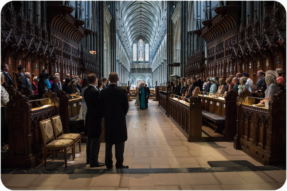 Salisbury Cathedral Wedding Photographer