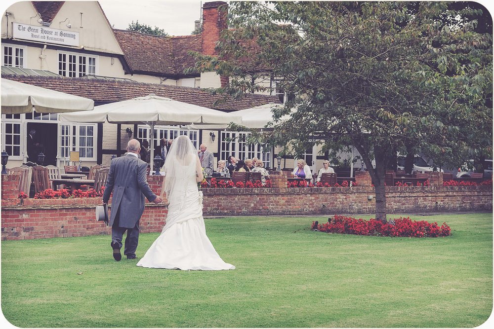 Great House Sonning wedding photographer