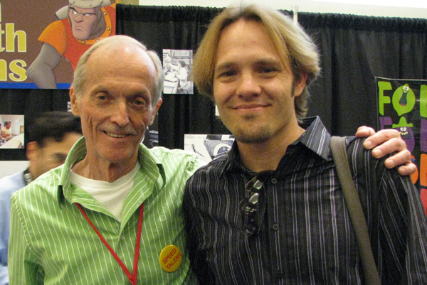 Don Bluth and myself at the 2009 CTN eXpo