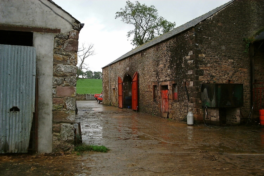 Old barns of the working farm