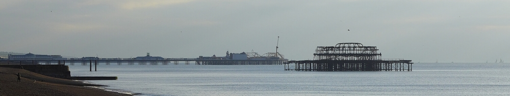 The Piers  on a crisp Sunday morning