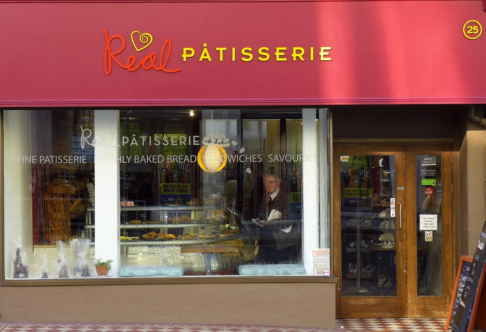 Real Patisserie  My favourite baguette bar. Class.