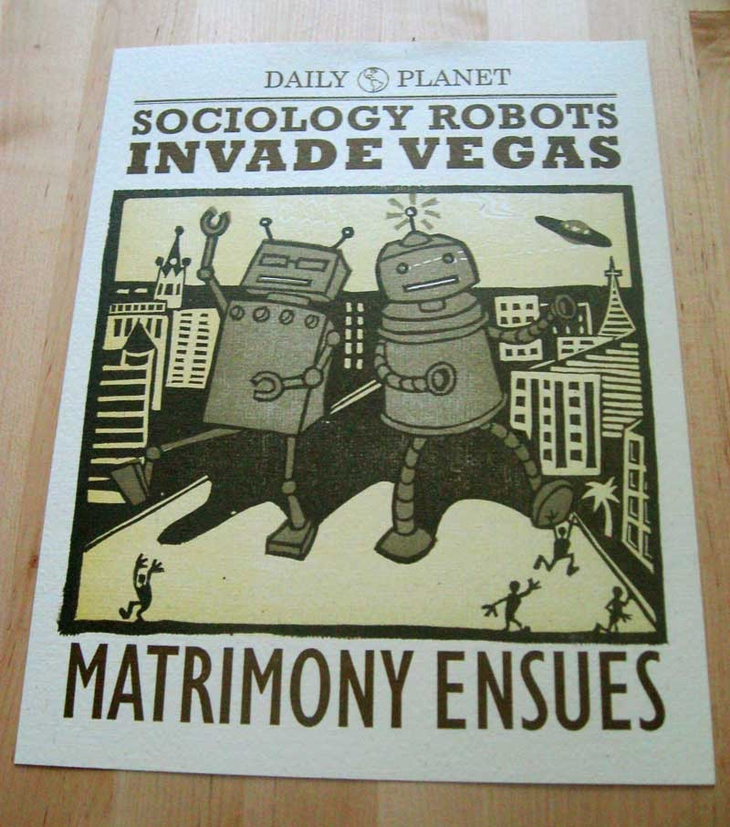 Sociology Robots in Vegas: Todd and Courtney
