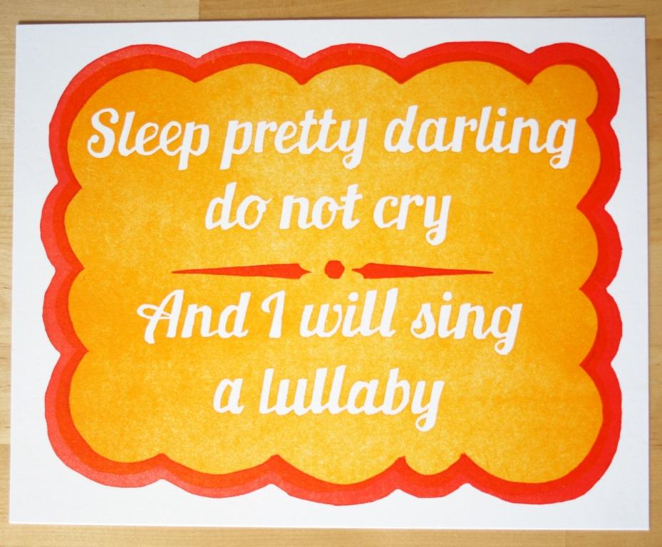 Sleep Pretty Darling