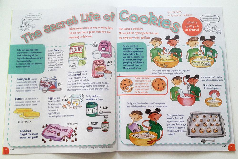 Cookies + science!