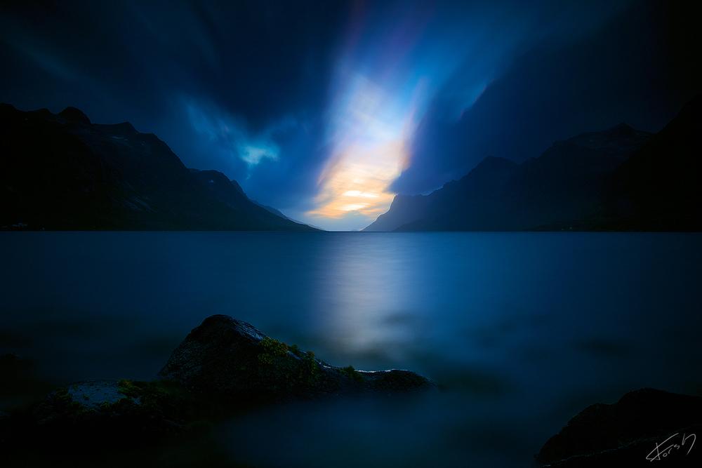 Kveld i Ersfjord