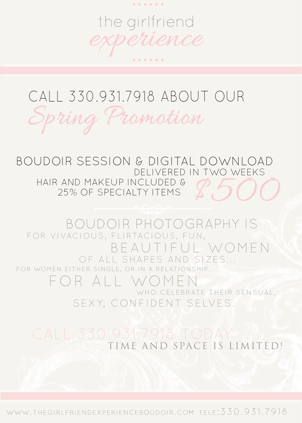 pittsburgh boudoir photography specials