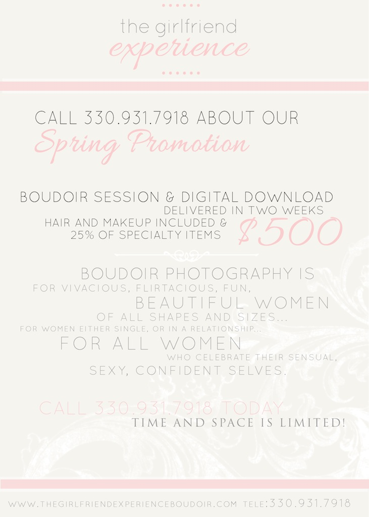 pittsburgh boudoir promotion