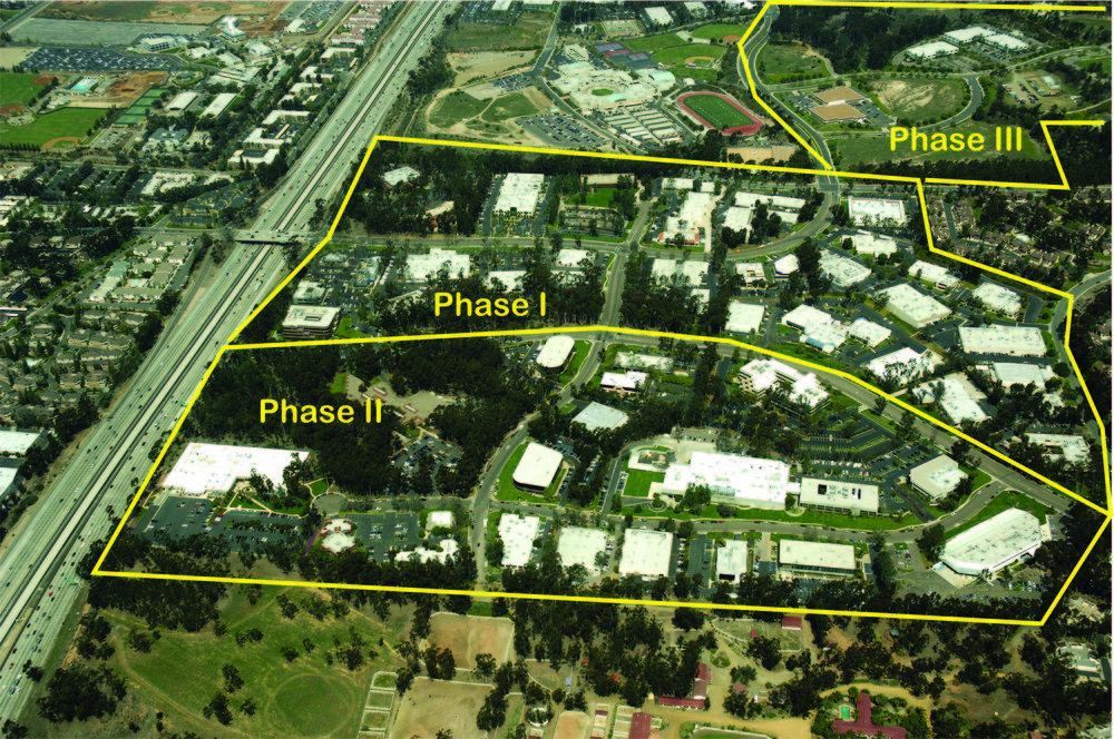 Scripps Ranch Business Park is a 266-acre business community situated on a bucolic wooded site adjacent to the I-15 corridor of San Diego, California. The master planned business community is one of the largest in San Diego County and was built in three phases over a 20-year period. The Currie Partners, Inc. and its affiliated partner, Currie Samuelson Development Group, are the original developers of all three phases of the Scripps Ranch Business Park and currently owns and manages several existing properties within the Park. The firm also manages the common areas for the park's property owners association.