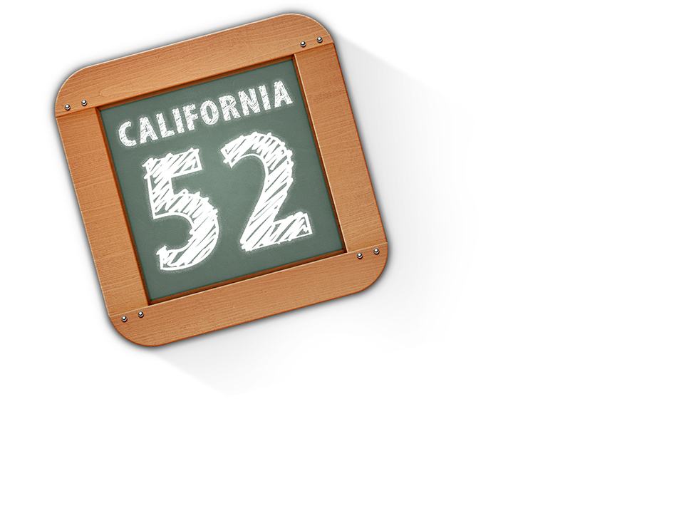 52 Weeks in California